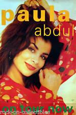 Paula Abdul 1992 Captivated Original Tour Promo Poster