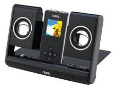 Naxa NAS-3002 Portable Foldable Speaker System MP3 Black