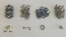 Dirt Track Body Fasteners 1/4 Turn Quick Release Kit 20 Pcs Set CPR 10374