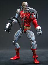 Marvel Leyendas galcatus serie Deathlok Figura Sin Caja Raro, escudo, los Vengadores