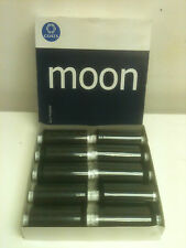10 x 1000 Yard Reels Of Black Polyester Moon Thread By Coates