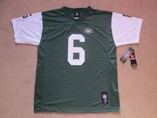 NEW York Jets NFL Jersey Shirt-MARK Sanchez # 6 Youth X GRANDI/Da Uomo Piccolo Nuovo con etichette