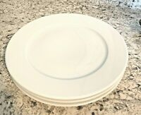 "3 PILLIVUYT APILCO WILLIAMS SONOMA FRENCH PORCELAIN 11"" DINNER DISH PLATE"