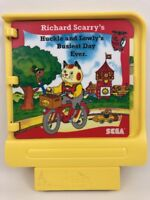 Pico Sega Game Cartridge Richard Scarrys Busiest Day Ever Vintage 90s Gaming