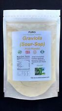 Graviola Soursop 8OZ SUPERFOOD FREEZE DRIED Fruit Powder PURO GUANABANA BRAZIL