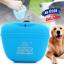 Pet Training Treat Bag Pouch Silicone With Clip Waist Pack Feed Feed Dog