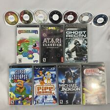 PSP Game Lot Gran Turismo Medievil MLB The Show Daxter & More 13 games