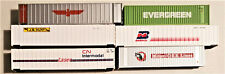 6 - SHIPPING CONTAINERS! N Scale