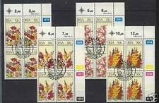 Flowers Used South African Stamps