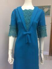 Original Vintage 60s  Dress ,Sailor Tie Dress , Cocktail Party Dress Pinup Retro