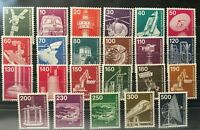 GERMANY Technology & Industry 46 Stamps Mint and Used / NH for the price of one