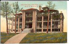 Early 1900's Alta Pass Inn on C.C. & O.R.R. near Spruce Pine, North Carolina PC