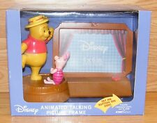 Disney Winnie The Pooh & Piglet Musical Frame Animated Talking Picture Frame