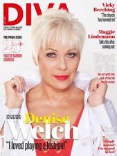 DIVA MAGAZINE JULY 2018 - DENISE WELCH - MAGGIE LINDEMANN -  LESBIAN LIFESTYLE