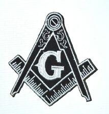 Set of 3/Masonic Square and Compass Masonic Iron-on Patch 0848