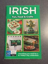 Irish Fun, Food & Crafts Cookbook Crafts 2007 Color Paperback