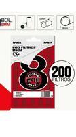 Filtri Rasta Regular per carte da sigarette  Classico 8 mm  da 3000 filtri