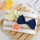 3Pcs Kids Girl Baby Toddler Infant Flower Headband Hair Bow Band Accessories Hot