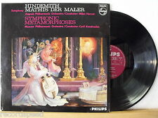 LP - MOSCOW & ZAGREB PHILHARMONIC ORCHESTRA - Hindemith Symphonic Metamorphoses