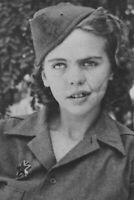 Albina Mali-Hocevar, resistance heroine, WWll WW2 Photo 4x6 inch F