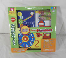 Creative Hands Edu-tivites Learn Numbers Ages 3+ New