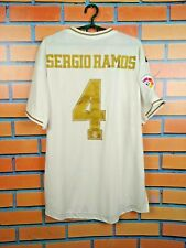 Sergio Ramos Real Madrid Player Issue Jersey 2019 Climachill L Adidas DW4436