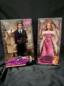 RARE New Disney Store Enchanted Giselle Doll and Robert Doll Set of 2