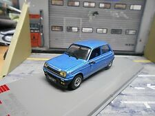RENAULT 5 Alpine Sport blau blue 1977 GTI Edition IXO Sonderpreis 1:43