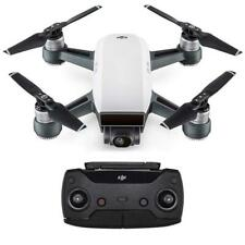 DJI Spark Quadcopter Drone With 12MP Camera and Remote Control - White