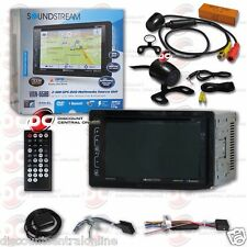 "SOUNDSTREAM VRN-65HB CAR 6.2"" LCD DVD GPS BLUETOOTH STEREO FREE 170° REAR CAMERA"