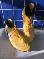 Nike Magista Orden II FG Soccer Cleats Laser Yellow Black 843812-801 UK 11 US 12