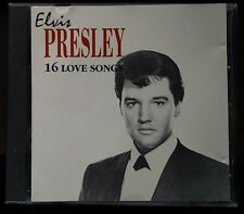 Elvis Presley 16 Love Songs Cd Italian issue 1991 Duck Record DKCD 142 Mint