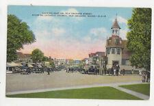 Looking East Old Orchard Street Old Orchard Maine Usa Vintage Postcard Us022