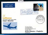 64898) LH A340 FF Dubai - München 26.10.2003, sp card