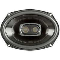 Polk 6x9 Inch 450W 3-Way Car/ Boat Coaxial Stereo Audio Speakers Marine   DB692