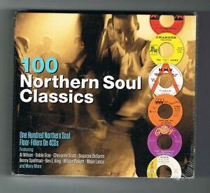 ♫ - 100 NORTHERN SOUL CLASSICS - COFFRET 4 CD - 2017 - NEUF NEW NEU - ♫