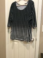 Women��s Plus Size 30/32 Blouse By Woman Within
