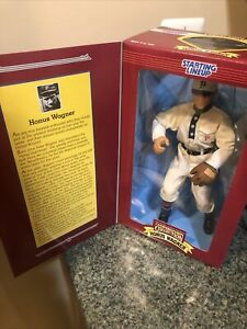 """Starting Lineup Cooperstown Collection Honus Wagner 12"""" Collector Edition #24131"""