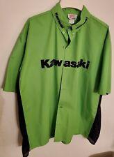 Kawasaki Button Down L Shirt Mens Large