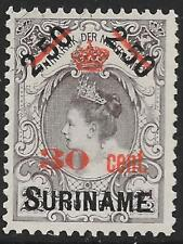 Surinam stamps 1911 NVPH 64 UNG(as issued) VF