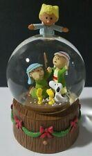 New ListingHallmark Musical Nativity Snow Globe 2010 Shepherd Peanuts Charlie Brown Snoopy