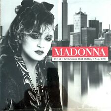 VINYLE LP MADONNA LIVE AT THE REUNION HALL DALLAS 7 MAY 1990 NEUF SOUS BLISTER