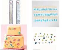 FMM Art Deco Alfabeto y Números Cortadores Set Superior & minúsculas Sugarcraft
