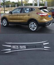 Roof Rack Side Rails Bars for 2014-2015 Nissan Qashqai 2016