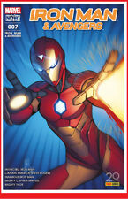 IRON MAN & LES AVENGERS 7 07 Dec 2017 Marvel Now! now Panini CASELLI # NEUF #