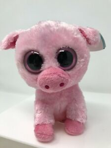 Ty Beanie Boos Corky The Pig DOB April 21st  Mint Tags New Old Stock