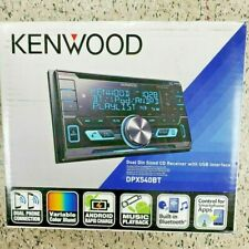 Kenwood DPX540BT Double-Din In-Dash AM/FM Media Receiver With Bluetooth New