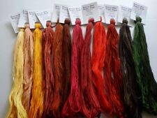 Glorious Autumn Collection ,over dyed floss. 12 (20 yd skeins, gift boxed