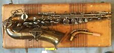 1922 Buescher True Tone Alto Sax-Good Condition! With hard case