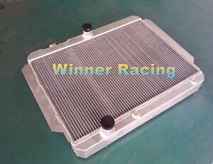 70mm aluminum radiator for Cadillac all models V8 w/tranny cooler AT 1959-1960
